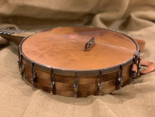 Eastern hard Maple (Rock Maple) block rim with tobacco stain