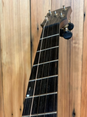 Tunneled 5th string on ebony fingerboard